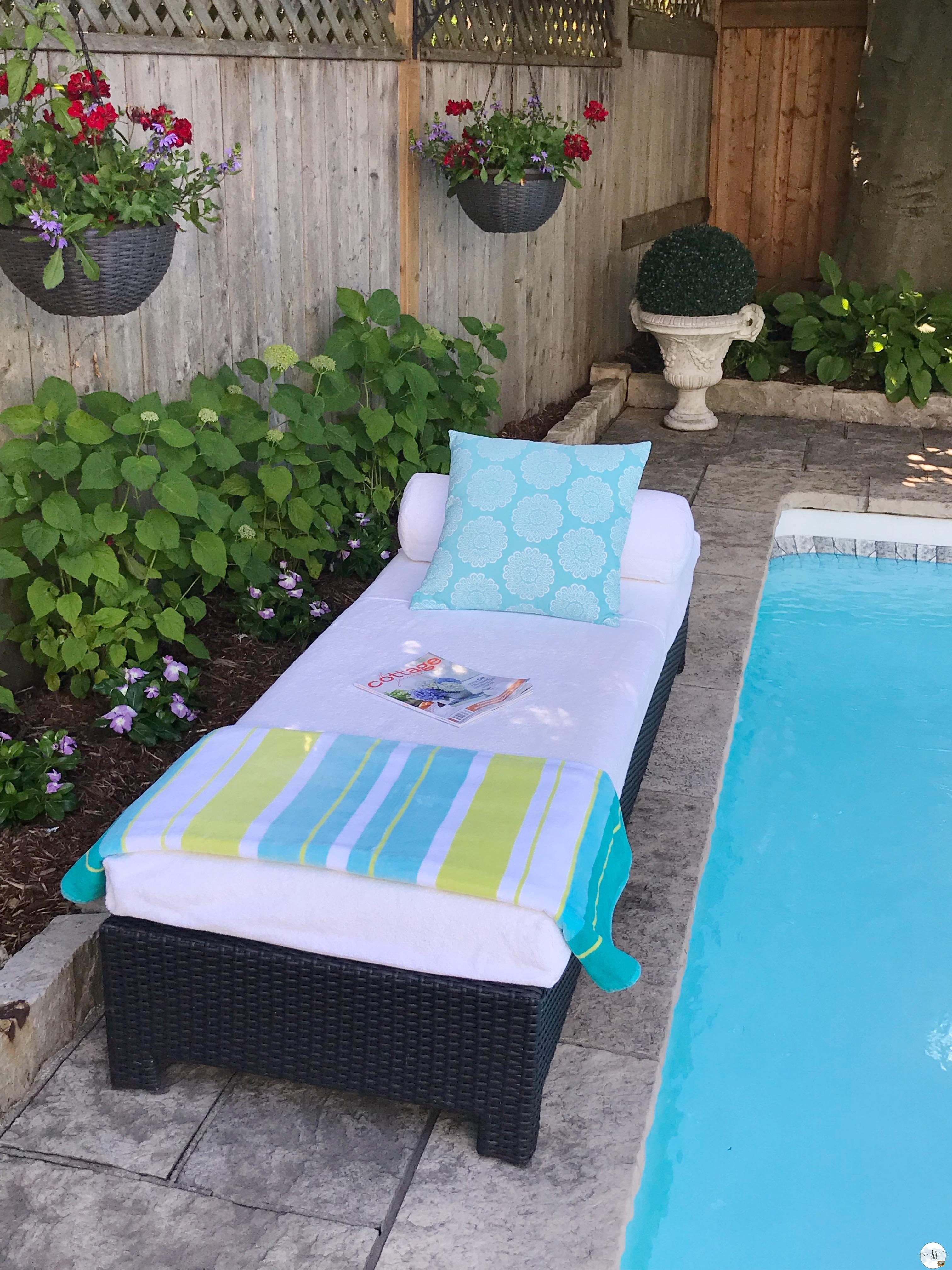 DIY slipcovers for outdoor furniture
