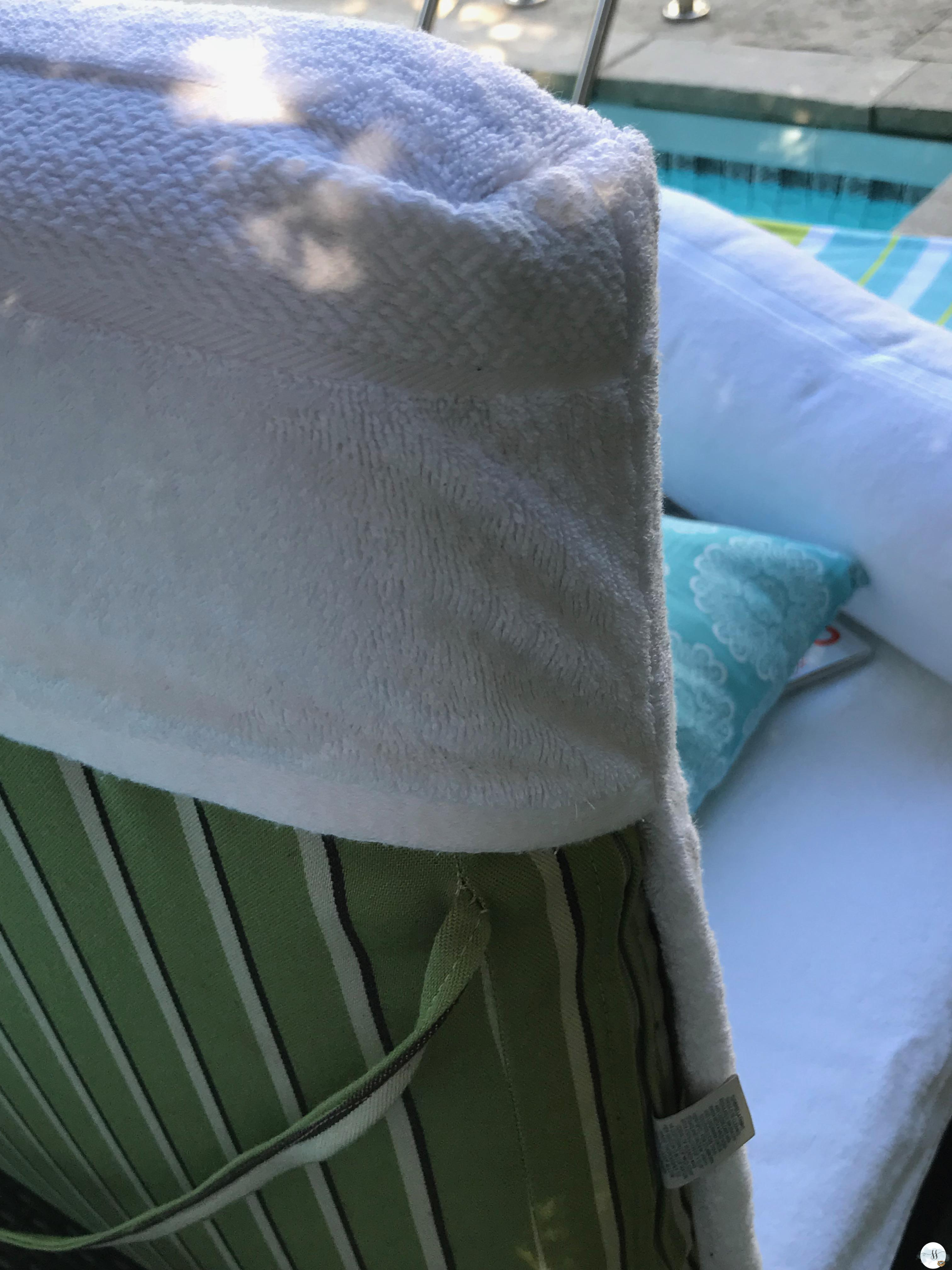 slipcovers made from towels for this great DIY project.