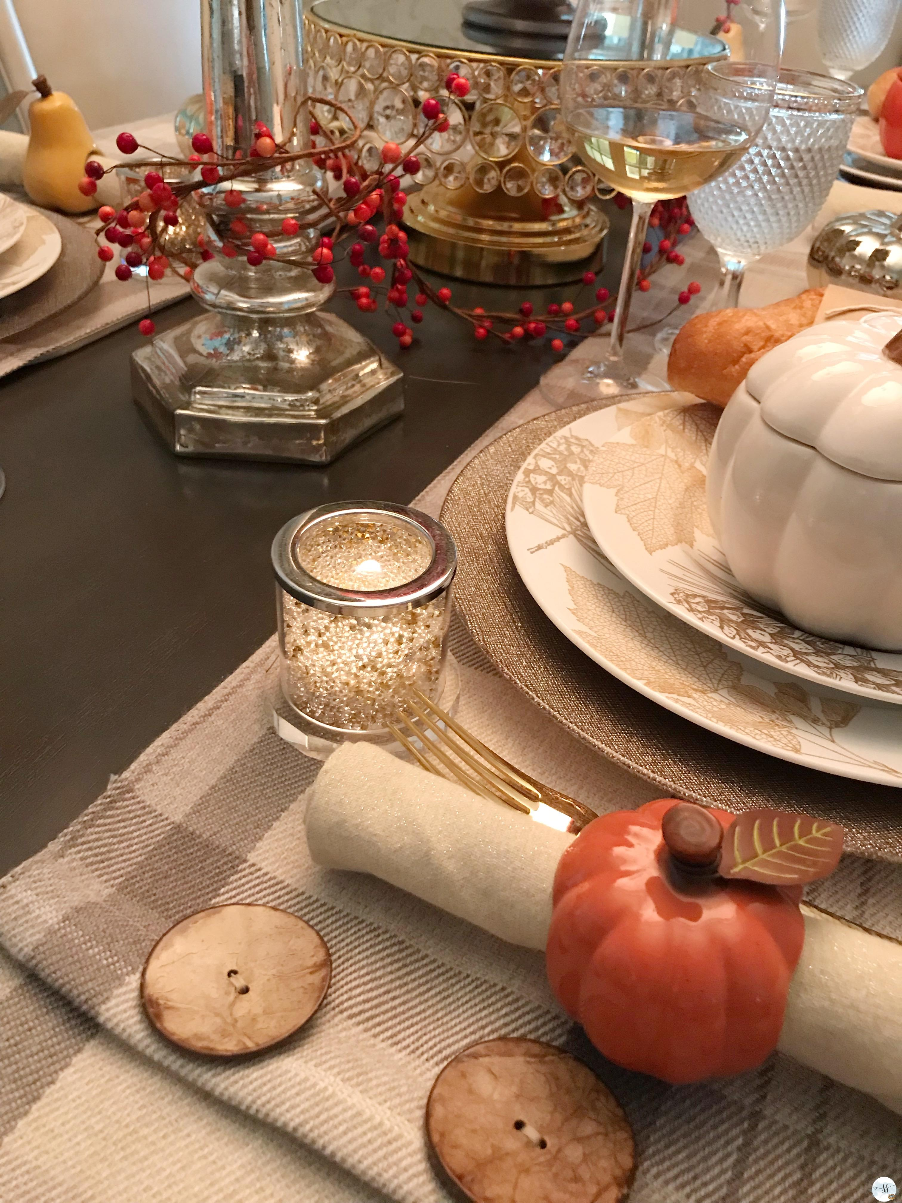 fall decor, fall tablescapes, better homes and gardens.