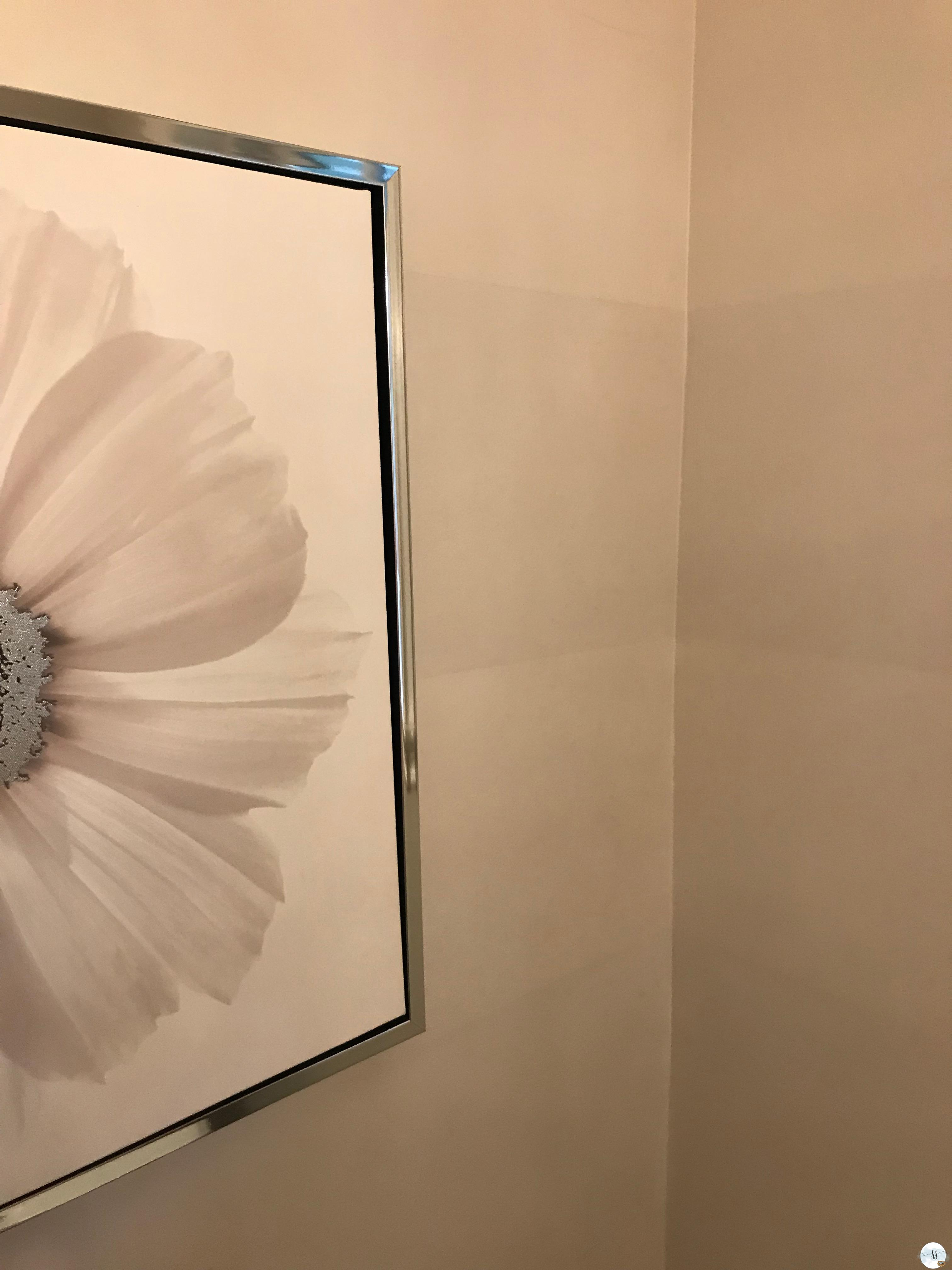 before and after powder room, better homes and garden, DIY powder room reno