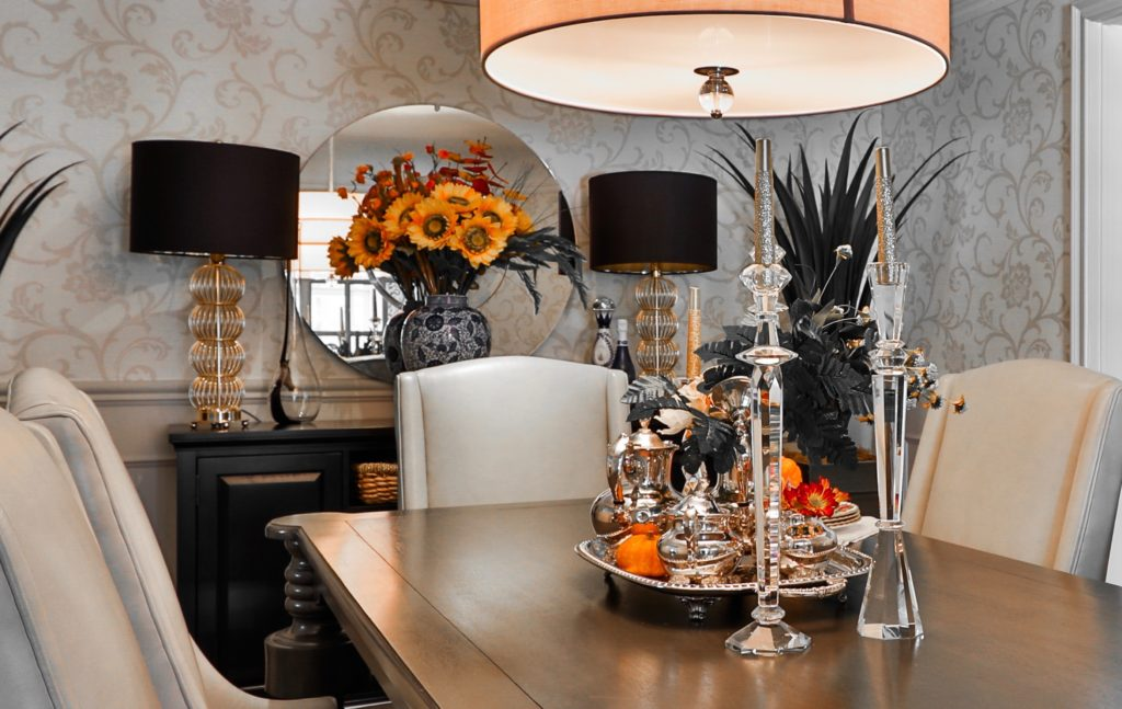 DIY fall decorating for your dining room