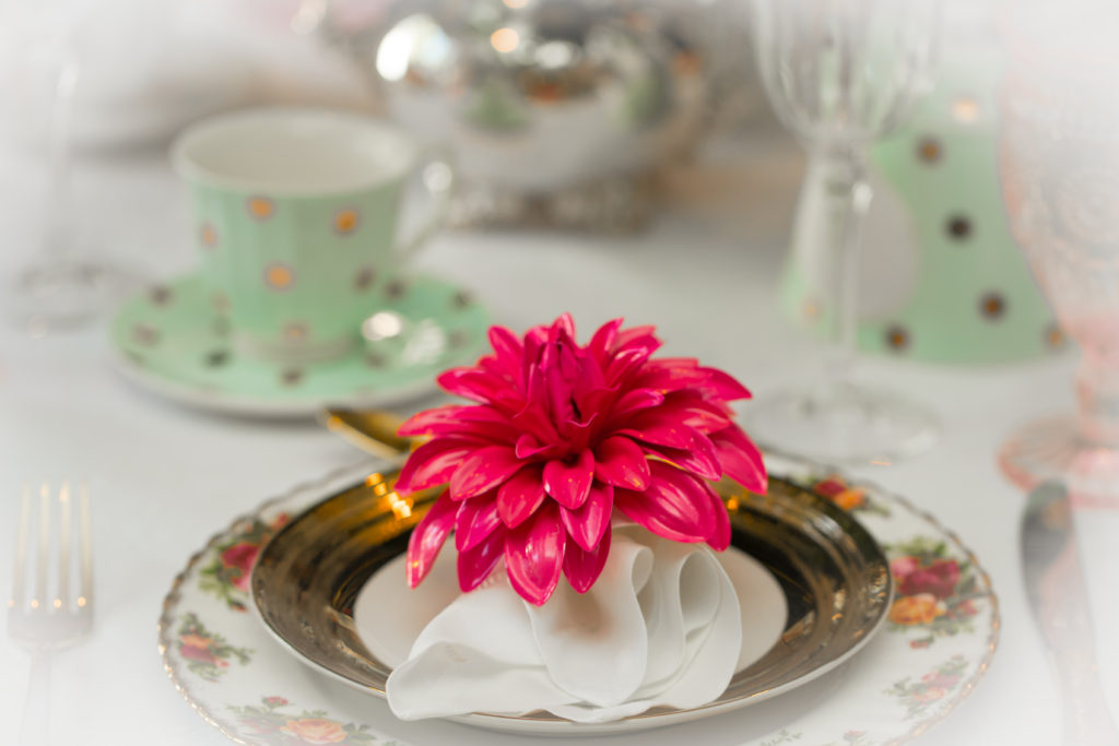 Mix and match your china.