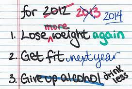 September resolutions vs January resolutions