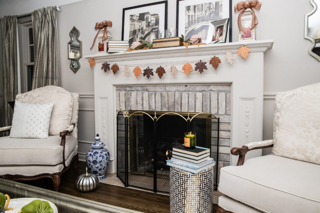 Fall living room decor, Downton Abbey Decor ideas